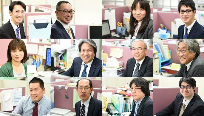税理士法人三田会計のスタッフたち